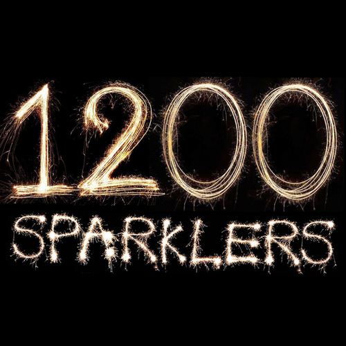 """1200 Giant Gold 18"""" Sparklers"""