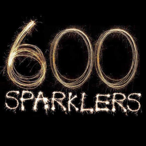 "600 Giant Gold 18"" Sparklers"