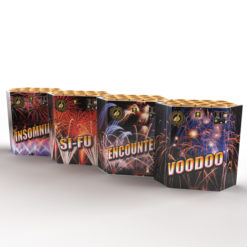 Super Four Assortment | Cakes & Barrages | Dynamic Fireworks