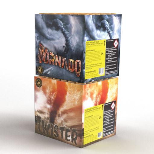 Tornado & Twister   Cakes & Barrages   Dynamic Fireworks