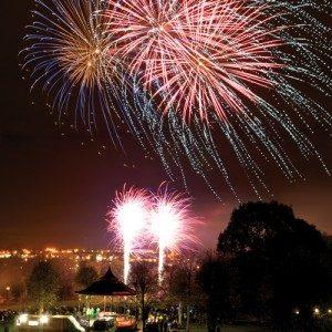 Firework displays - Castle park fireworks