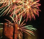 Firework Displays - Leez priory fireworks