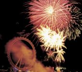 Firework Displays - London Eye