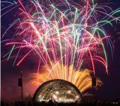 Firework displays - Shuttleworth flying prom fireworks