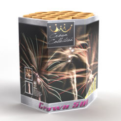 Crown 500 | Cakes & Barrages | Dynamic Fireworks