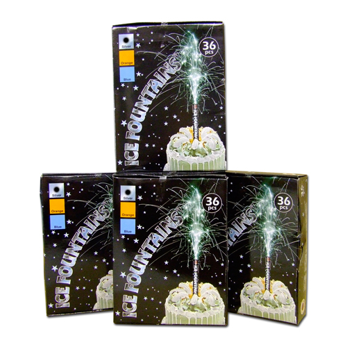 Premium Indoor Ice Fountain Pack of 144
