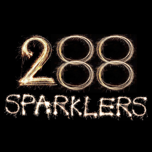 288 18 Neon Sparklers