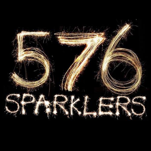 576 18 Neon Sparklers