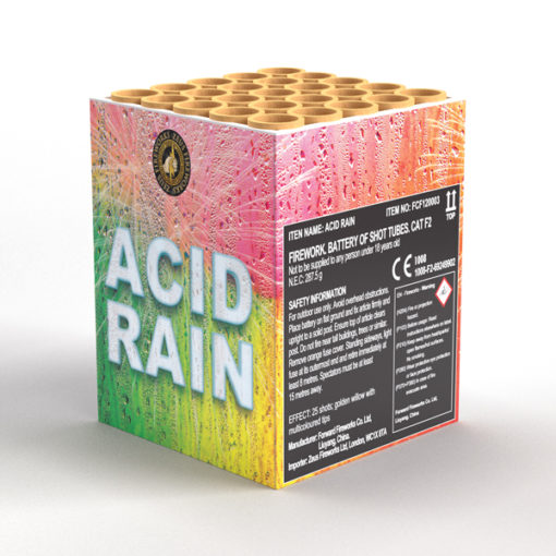 Acid Rain | Cakes & Barrages | Dynamic Fireworks