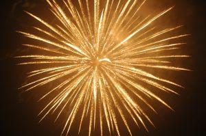firework bursting