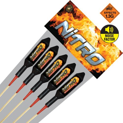 Nitro Rocket 5 Pack