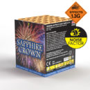 Sapphire Crown | Cakes & Barrages | Dynamic Fireworks