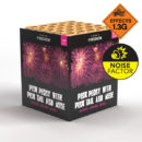 Purple Pink Peony with Pink Tail and Mine | Cakes & Barrages | Dynamic Fireworks