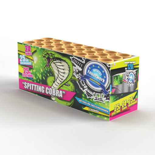 Spitting Cobra | Cakes & Barrages | Dynamic Fireworks