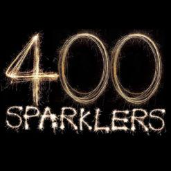 400 Gold 10 Sparklers
