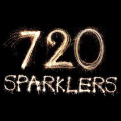 720Monster Gold 18 Sparklers