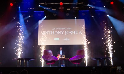 Anthony Joshua - Celebrity Clients - Dynamic Fireworks
