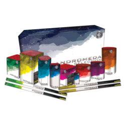 Andromeda Selection Box I Display Packs I Dynamic Fireworks