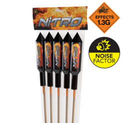 Nitro Rocket 5 Pack I Big Rockets I Dynamic Fireworks