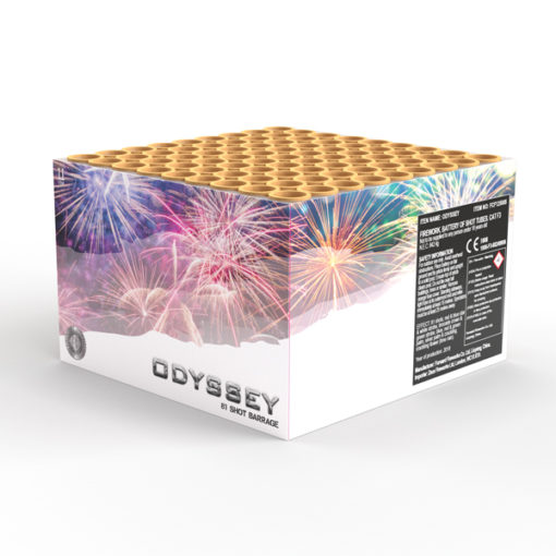 Odyssey | Cakes & Barrages | Dynamic Fireworks