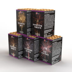 Premium Assortment 5 Pack | Cakes & Barrages | Dynamic Fireworks