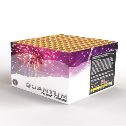 Quantum | Cakes & Barrages | Dynamic Fireworks
