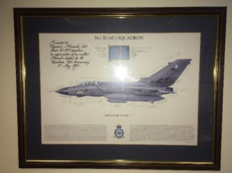 Armed Forces Day - signed photo