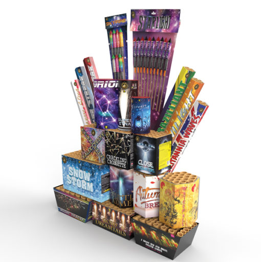 Carnival Low Noise | Discounted Display Pack | Dynamic Fireworks