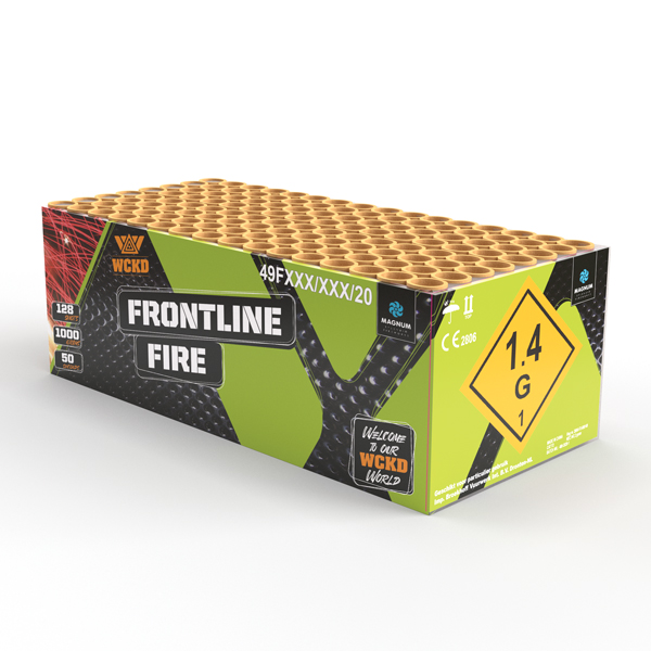 Frontline Fire | Cakes & Barrages | Dynamic Fireworks