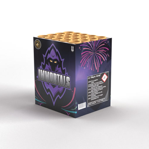 Immortals | Cakes & Barrages | Dynamic Fireworks