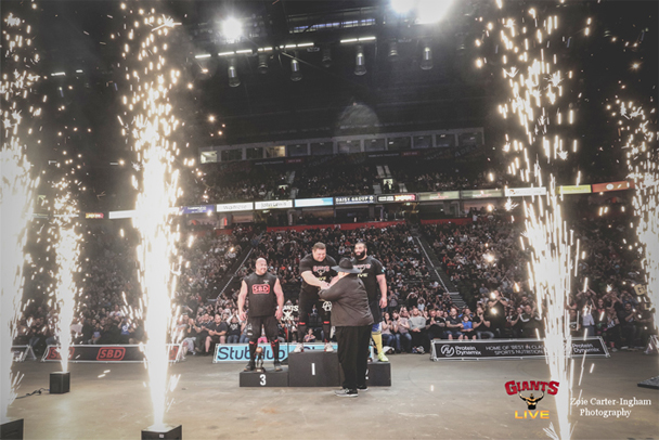 MEN Arena – Giants Live – Sparktacular