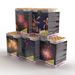 Powerful 5 Assortment | Cakes & Barrages | Dynamic Fireworks