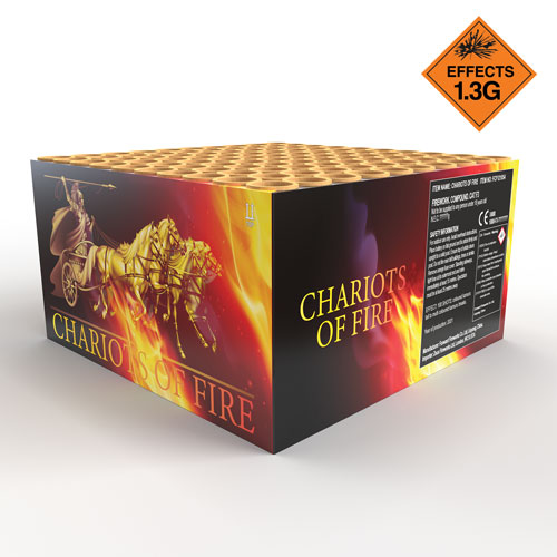 Chariots Of Fire | Cake/Barrage | Dynamic Fireworks