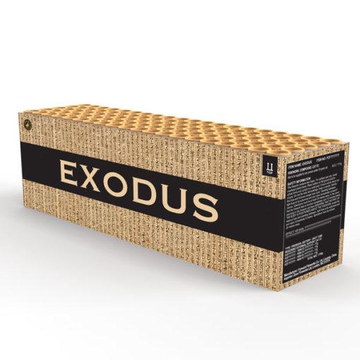 Exodus | 30mm compound barrage | Cake | Dynamic Fireworks