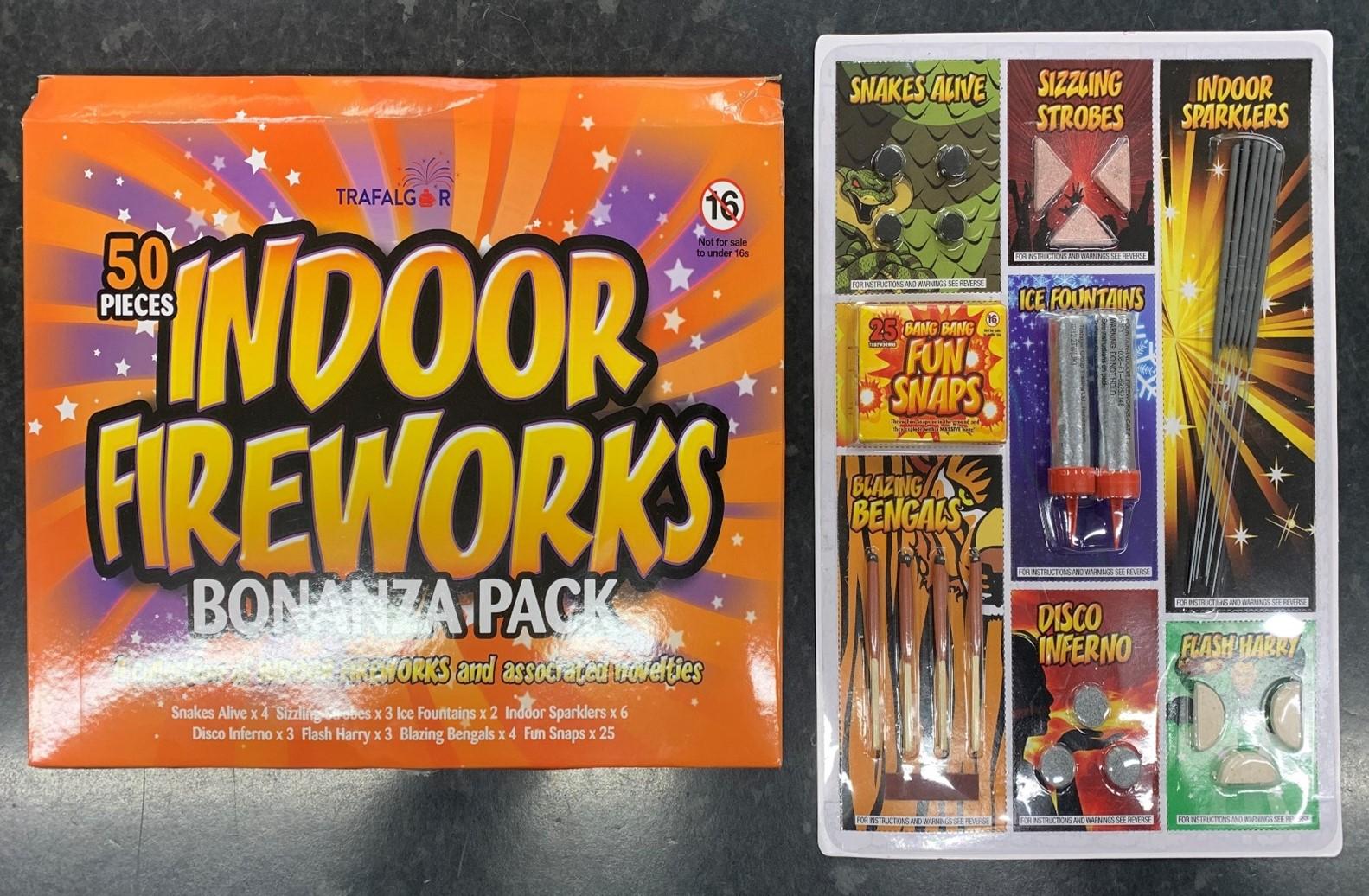 Fireworks categories 1