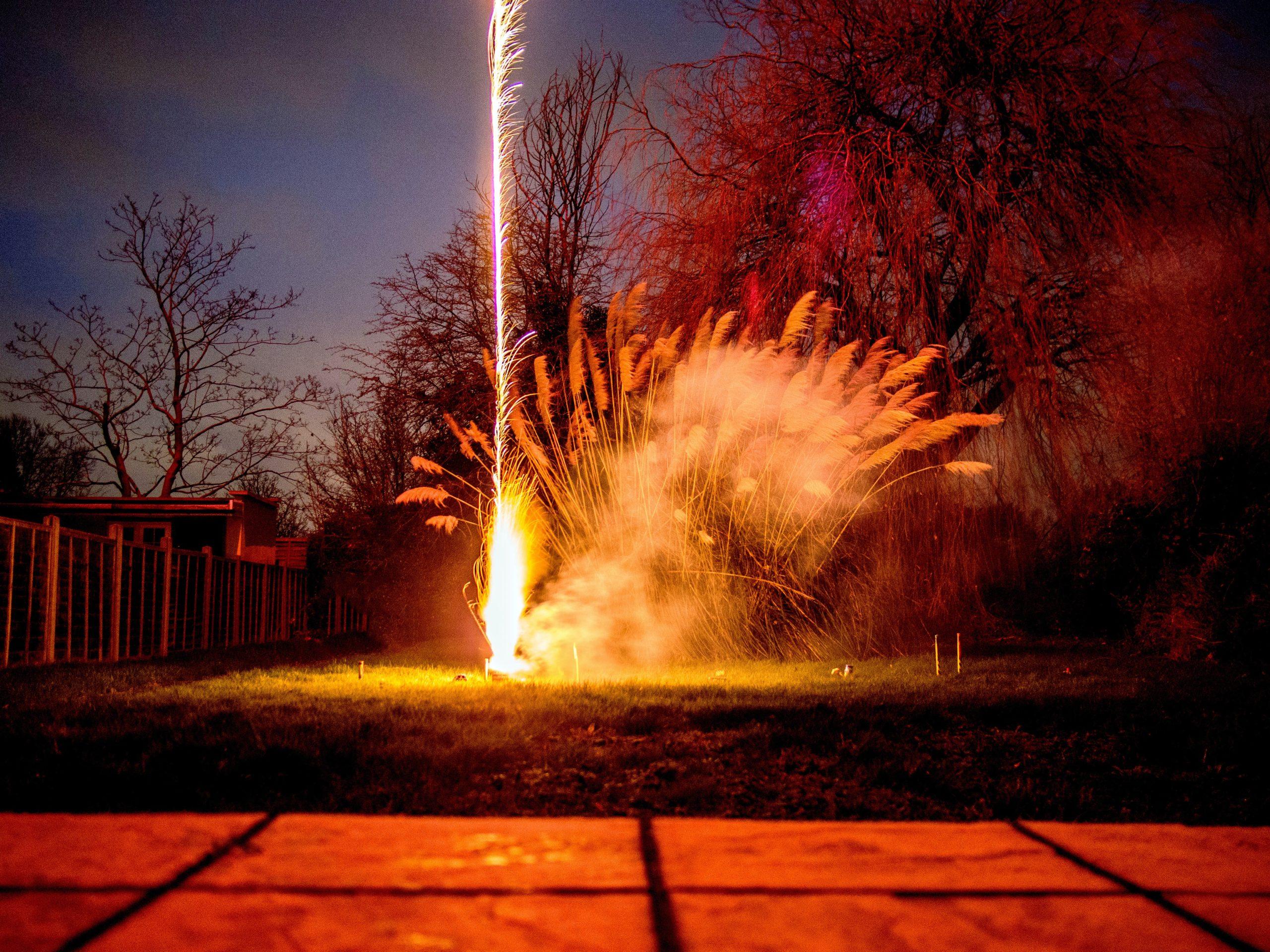 Guy Fawkes Garden Fireworks 2