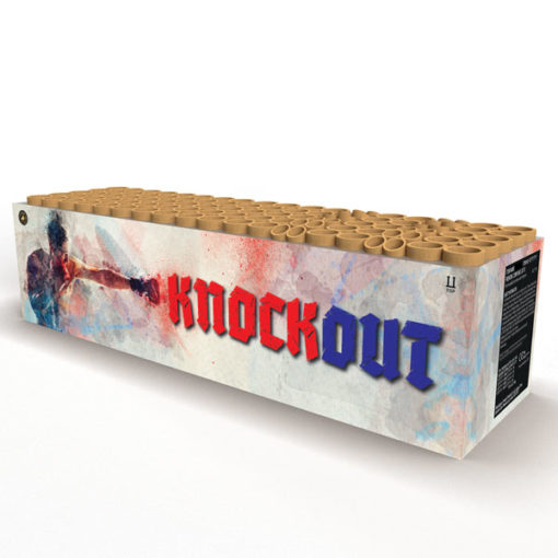 Knockout | Large compound barrage/cake | Dynamic Fireworks