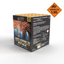 Pro Range - White Strobe To Brocade With Blue Stars | Dynamic Fireworks