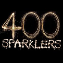 400 Coloured Sparklers