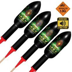 The Hulk Rocket 4 Pack