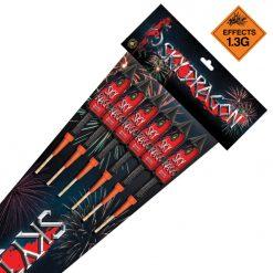 Sky Dragon Rocket 6 Pack