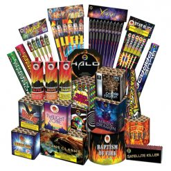 Combo 6 Gala Fireworks Display Pack