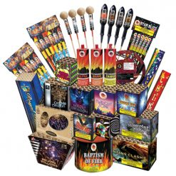 Combo-7 Carnival Display Fireworks Pack