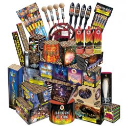 Invader Display Fireworks Pack/Combo 8