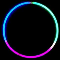 50 Tri Colour Necklaces