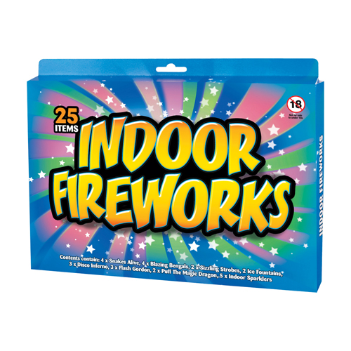 Indoor Firework Pack 1