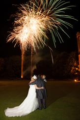 Leez-Priory-Fireworks-Bride-Groom
