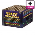SPACE INVADER barrage fireworks