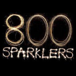 800 Colour Sparklers