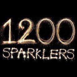 1200 Gold Sparklers